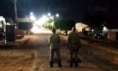 Polícia Militar realiza operação em Curimatá para conter a criminalidade