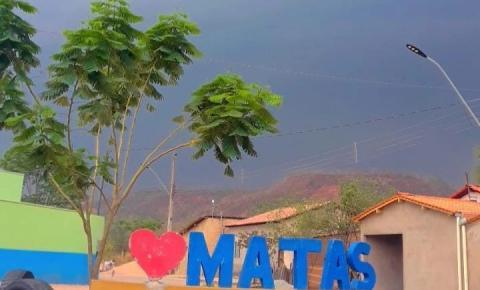 Chuva em Santa Filomena trás esperança aos moradores do povoado Matas