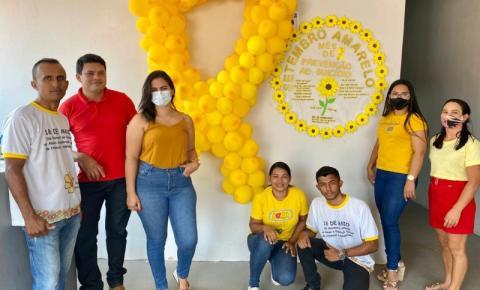 Assistência Social de Sebastião Barros participa da Campanha Setembro Amarelo