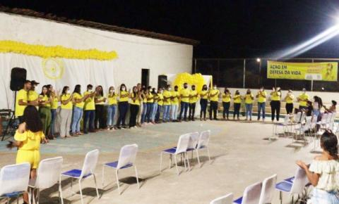 Evento alusivo ao Setembro Amarelo mobiliza a comunidade de Sebastião Barros