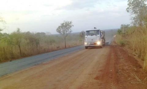 Governo recupera trechos da PI-240, importante via do cerrado