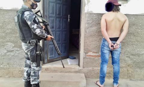 Homem é preso em Cristalândia portando arma calibre 38