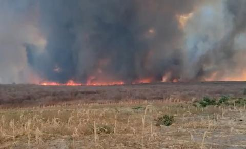 Corpo de Bombeiros voltam à Curimatá e para combater focos de incêndios