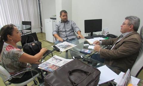 Prefeito Neemias Lemos encontra-se com Edson Ferreira em Teresina