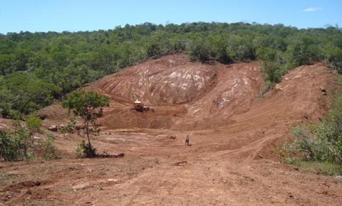 Grota da Piaba, zona rural de Corrente, ganha barragem comunitária