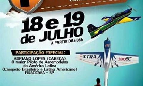 39ª ExpoCorrente terá novidade: 1º Encontro de Aeromodelismo de Corrente