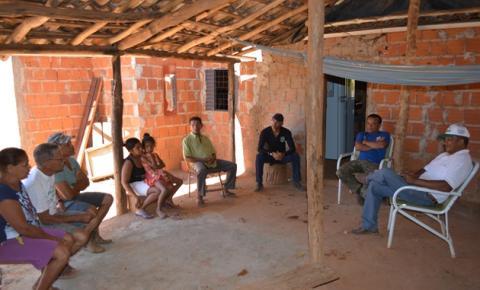 SDR visita comunidade de Lajeiro II e discute sobre a problemática da seca