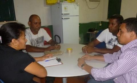 Vigilância Sanitária do Município reune-se com o Vereador Luiz Augusto