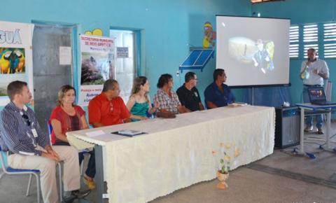 Seminário sobre a revitalização da Lagoa de Parnaguá e da Microbacia do Rio Paraim define metas de ações
