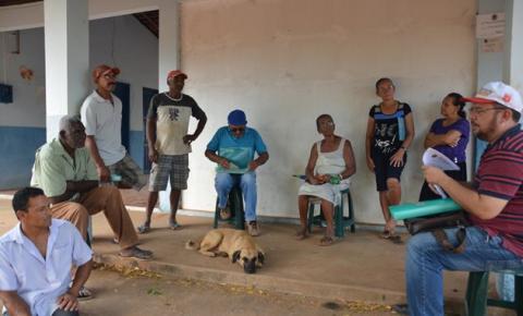 Pequenos produtores rurais de Corrente preparam-se para receber calcário e fertilizante