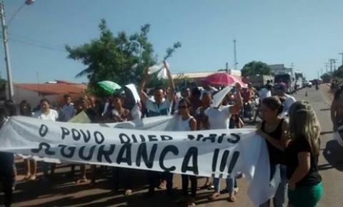 Prefeito de Gilbués entra com representação criminal contra os manifestantes que fecharam a BR 135 clamando por segurança