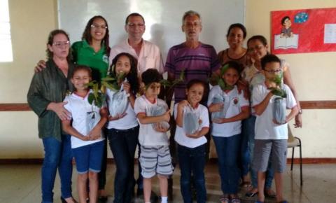 Superintendência de Meio Ambiente de Corrente realiza ação de Educação Ambiental pelo dia Mundial da Água