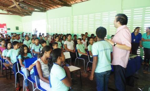 Superintendência de Meio Ambiente de Corrente realiza semana de Educação Ambiental na Escola Orley Cavalcante
