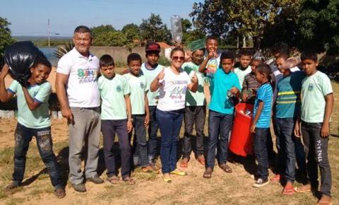 Semana de Educação Ambiental muda a rotina da Escola Municipal Orley Cavalcante