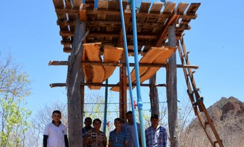 SEMDER finaliza 8 mil metros de rede de abastecimento na localidade Pastores, em Corrente