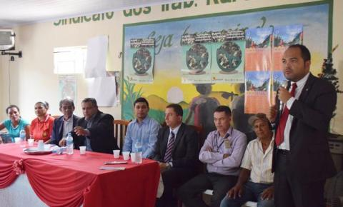 MP realiza audiência pública no Sindicato dos Trabalhadores Rurais de Corrente sobre fraudes em benefícios do INSS