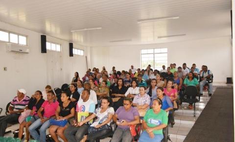 Secretaria de Saúde de Corrente capacita Agentes de Saúde para atuar no combate ao mosquito Aedes aegypti