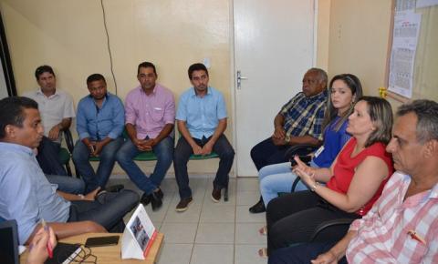 Secretário Estadual de Saúde participa de reunião com o MP em Corrente