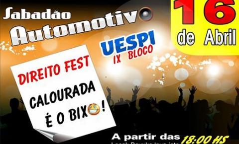 Direito da UESPI promove a Calourada é o Bixo neste sábado!