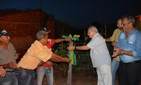 Prefeitura de Corrente inaugura sistema de abastecimento d'água no Angico e Côcos
