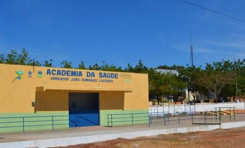 Prefeitura de Corrente inaugura na tarde desta segunda-feira a Academia de Saúde, ao lado do Terminal Rodoviário