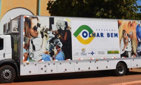 Programa Olhar Bem estima atender 2 mil pacientes em Corrente