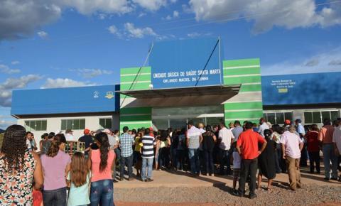 Comunidade comemora inauguração da UBS da Santa Marta