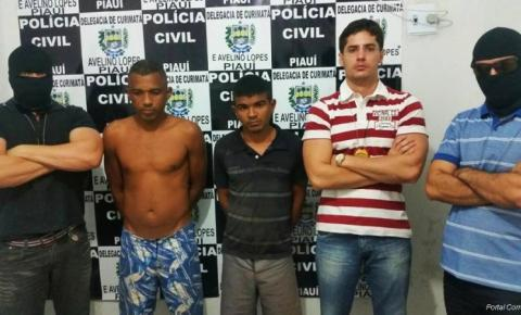 Polícia Civil de Curimatá prende assassinos de Eva Rodrigues, morta de forma bárbara há um ano na frente da família