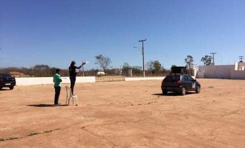 Ministério Público fiscaliza veículos com propaganda eleitoral sonora em Corrente