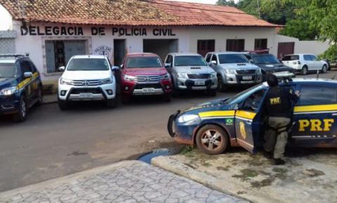 Caminhonetes de luxo roubadas no Piauí e vendidas no Maranhão são apreendidas durante operação da PRF