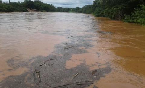 Intensas chuvas fazem Rio Parnaíba registrar a maior enchente dos últimos 12 meses
