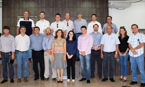 Agricultores da Aprochama participam de reunião com a CNA para definição de propostas do próximo Plano Agrícola 2017/2018