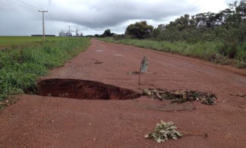 Mais uma vez produtores rurais terão que investir na recuperação da rodovia PI-254