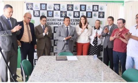 Governo do Estado assina Ordem de Serviço para a construção de Unidade Integrada de Segurança Pública de Gilbués