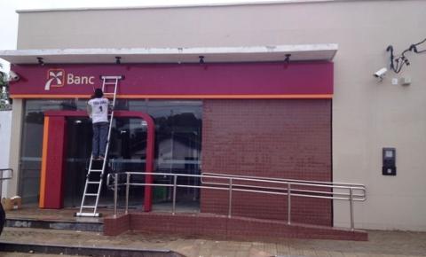 Banco do Nordeste retira logomarca da agência de Santa Filomena