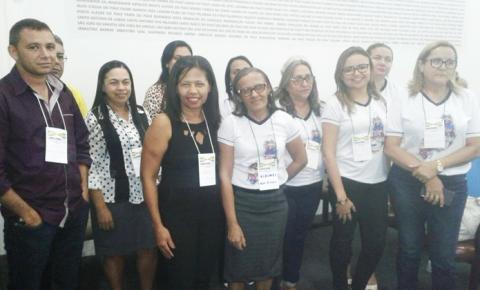 Secretária de educação de São Gonçalo do Gurgueia participa do 13º Forum da UNDIME/PI
