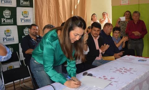 Margarete Coelho autoriza licitação para a obra da Barragem do Guarujá, em Cristalândia do Piauí