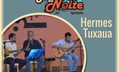 Projeto Boca da Noite leva Hermes Tuxaua à praça da igreja matriz