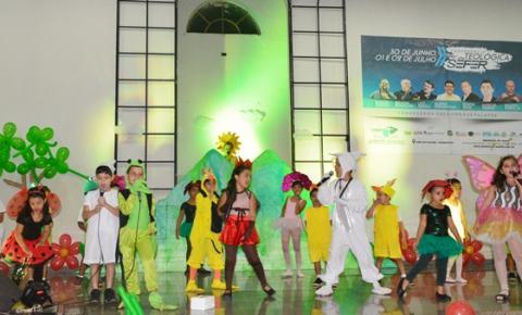 Instituto Kerigma encerra as atividades do semestre com o maravilhoso musical