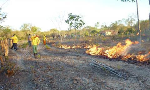 PrevFogo realiza treinamento preventivo contra queimadas no Morro Redondo