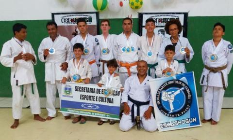 Piauí conquista 19 medalhas no Campeonato Mundial de Karatê em Aracaju