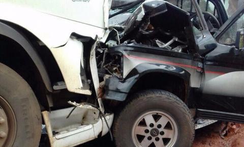 Dois homens morrem em grave acidente na Serra da Santa Marta em Corrente
