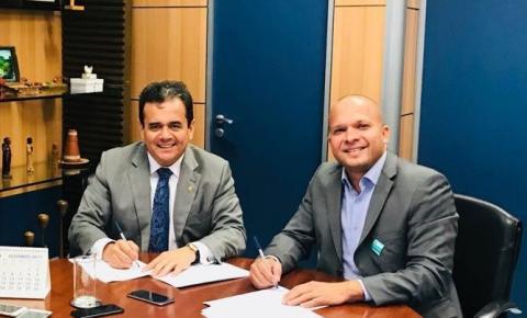 Prefeitura de Gilbués firma convênio de 630 mil para a estruturação do Brejo dos Buritis