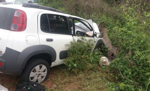 Colisão frontal deixa 3 mortos na BR 135 em Monte Alegre
