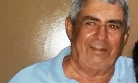 Nota de falecimento de José Alves Barros