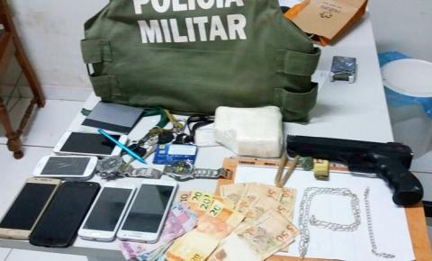 Polícia Militar prende traficantes com meio quilo de cocaína em Gilbués