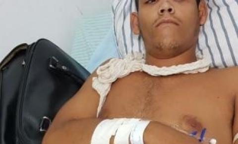 Acusado de homicídio dá entrada no Hospital de Corrente com fratura e é preso após cirurgia no Hospital de Floriano