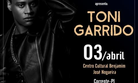 Projeto Seis e Meia apresenta Toni Garrido em Corrente na próxima terça (3)