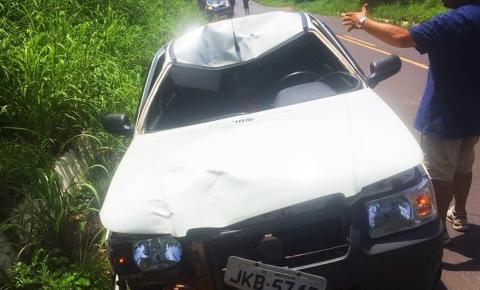 Homem invade a BR 135 em Cristalândia e morre atropelado por carro