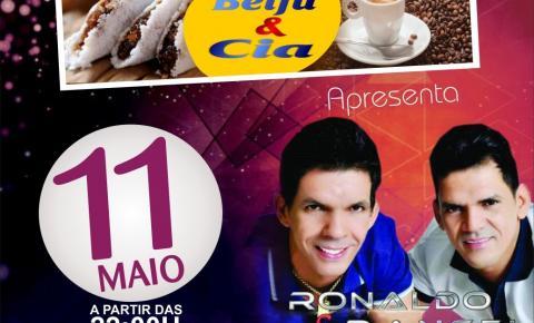 Comemore o Dia das Mães com Ronaldo & Rangel nessa sexta no Beiju & Cia